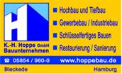 Logo Hoppe Tief- und Leitungsbau GmbH