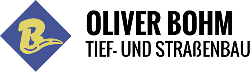 Logo Oliver Bohm Tief- und Straßenbau