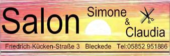 Logo Salon Simone und Claudia